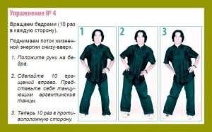 4 exercise Qigong