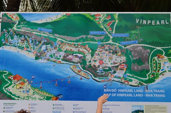 карта винперл - Вьетнамский Диснейленд